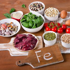 Hyperferritinémie et alimentation